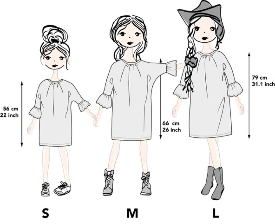 Size guide All season dress
