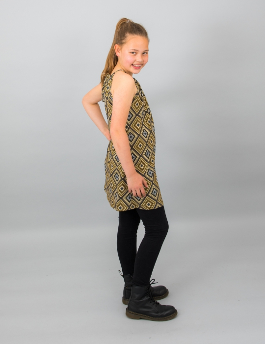 Dress by Mila - African Diamond icm zwarte legging