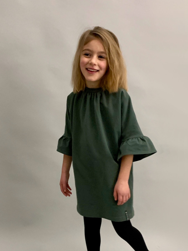 All season dress groen - Dress By Mila