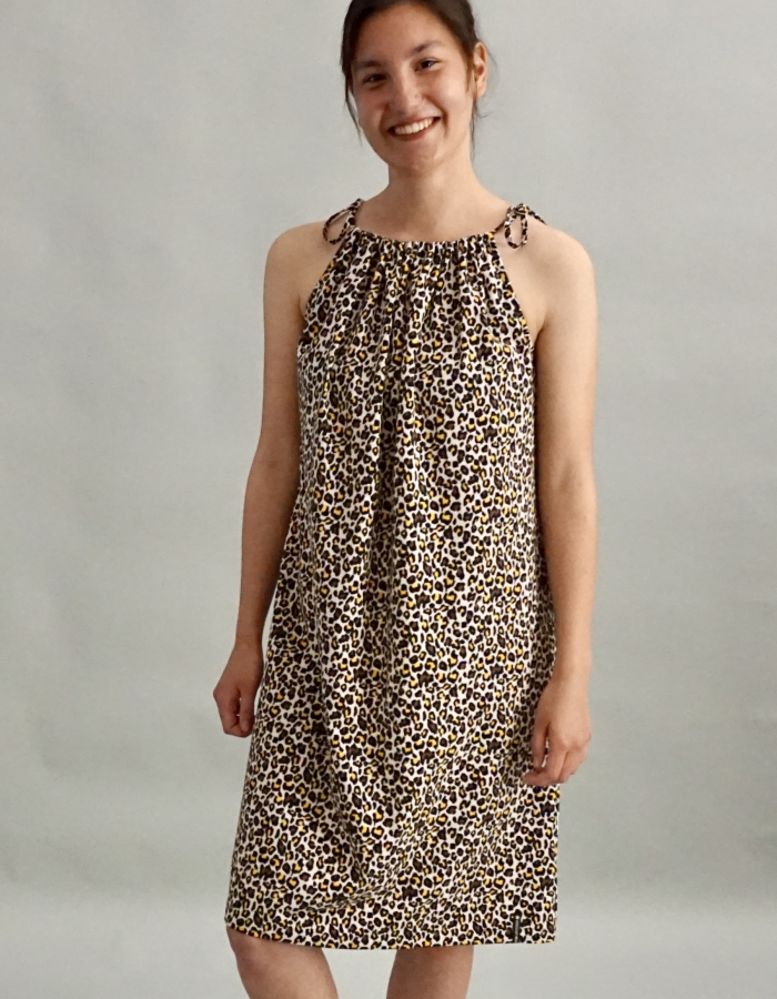 Cheetah dames jurk